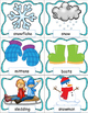 Winter Words Pocket Chart Cards and Writing Activities, Wi
