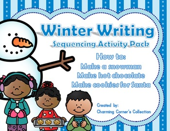 Winter Writing Sequencing Activity Pack