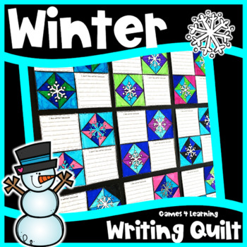 1 Winter Activity: Winter Writing Prompts Quilt