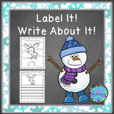 JANUARY ACTIVITIES!  FUN WINTER WRITING (Great for ESL Writing Too!)