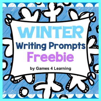 Winter Activity: Winter Writing Prompts: Winter Free