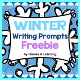 Winter Free: Winter Writing Prompts on Snowflakes