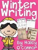 Winter Writing Printables, Flipbooks, and Activities