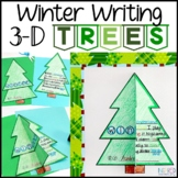 Winter Writing: 3-D Winter Tradition Trees