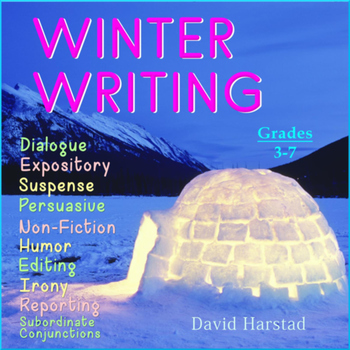 Winter Writing: 33 Printable Prompts (Grades 3-7)