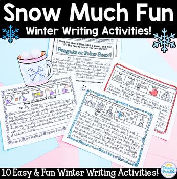 Winter Writing Activities: 10 Snow Much Fun!