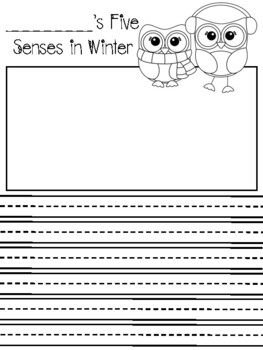 Winter Writing Activities
