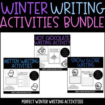 Winter Writing Activities BUNDLE