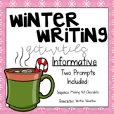 Winter Writing Activities - Informative Writing