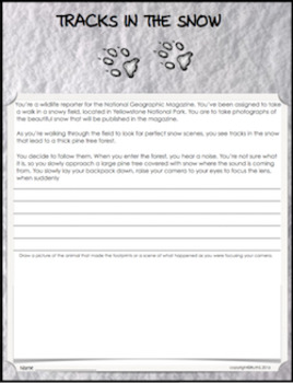 nonfiction writing prompts for middle school