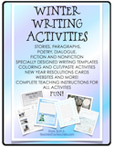 Winter Writing Activities, Stories, Poems, Fiction and Nonfiction