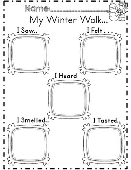 Winter Writing Activities and Prompts *Common Core Aligned*