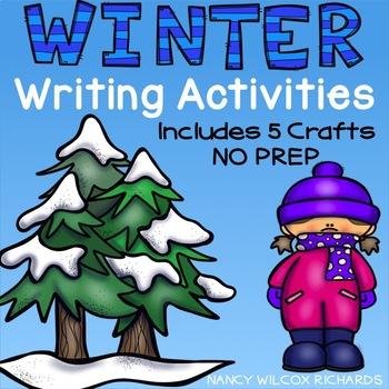 Winter Writing Activity and Craft NO PREP