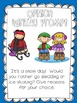 Winter Writing Activities with Word Wall Vocabulary Cards