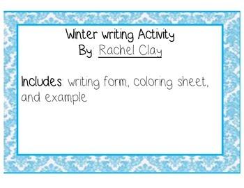 Winter Writing Activity