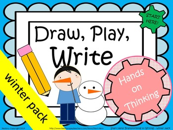 Draw, Play, Write! K-1 Winter Pack