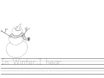 Winter Writing Activity (Class Book)