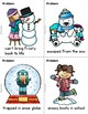 Winter Writing Activity Draw Three and Write with Me