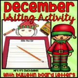 Winter/December Writing Activity: Elf Bulletin Board Display