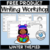 Winter Writing Activity FREE Opinion Narrative Sensory Details Prompts