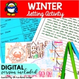 Winter Writing Activity for Middle School (Focused on Sett