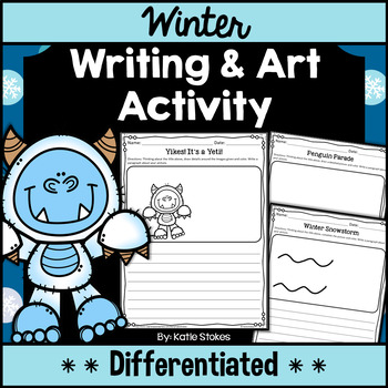 Winter Writing & Art Activity