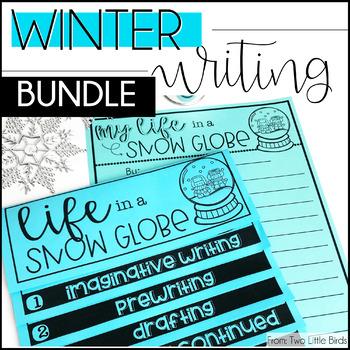 Winter Writing Bundle: Holiday Writing Activities