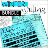 Winter Writing & Holiday Writing Activities Bundle