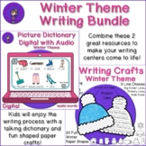 Winter Writing Bundle - Story Spinner, Audio Picture Dicti