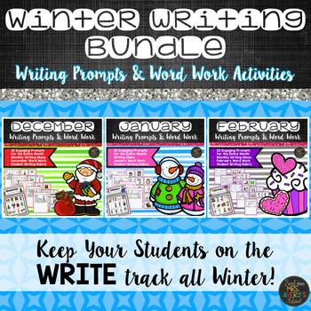 Winter Writing Prompts Bundle