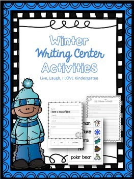 Winter Writing Center Activities