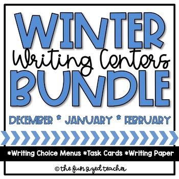 Winter Writing Center Bundle