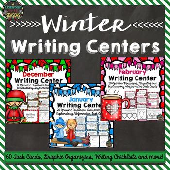 Winter Writing Centers