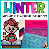 Winter Writing Choice Boards- (December, January and February)
