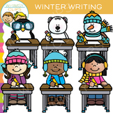 Winter Writing Clip Art