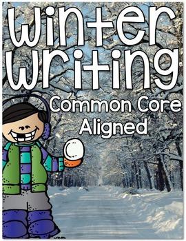 Winter Writing {Common Core Aligned}