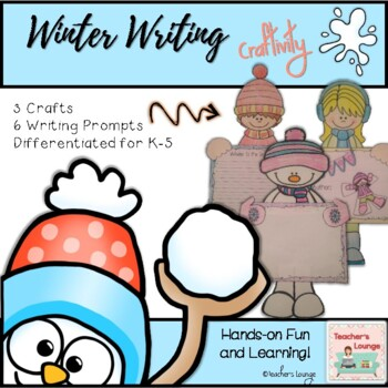 Winter Writing Craft - 3 Crafts in 1