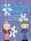 Winter Writing Craftivity (English & Spanish)