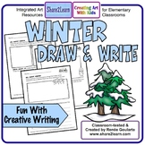 Winter Writing Draw and Write