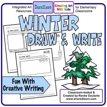 Winter Writing Draw and Write