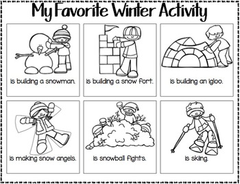 Winter Writing Freebie