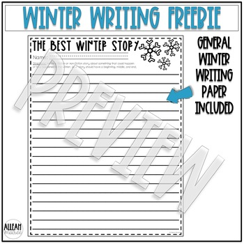 Winter Writing Freebie