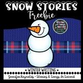 Winter Writing Freebie--Snowman Stories