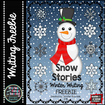 Winter Writing Freebie--Snowman Stories