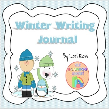 Writing Journal Winter Theme