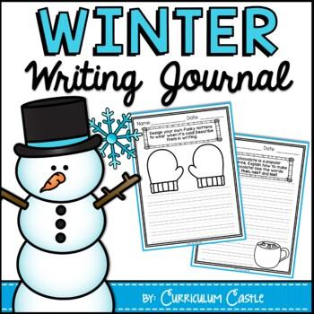 Winter Writing Journal {K-2} NO PREP!