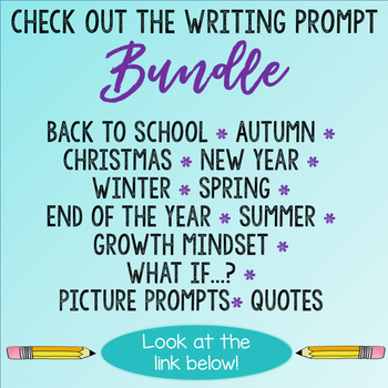 Winter Writing Journal Prompts