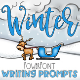 Winter Writing Journal Prompts PowerPoint
