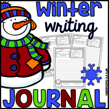 Winter Writing Journal: Snow, Holidays, Weather, Reindeer