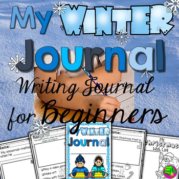 Winter Writing Journal for Beginning Writers